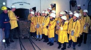 Aufnahme 5. Klassen im Tiefen-Bünau-Stollen