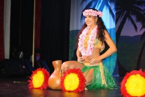 Polynesische Folklore auf Hawaii