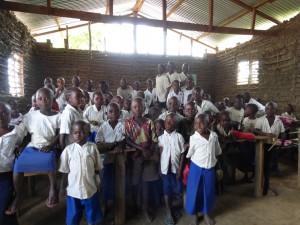 Schule im Kongo